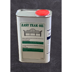 Easy teak oil